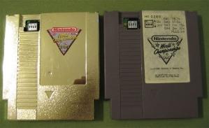 Золотой картридж Nintendo