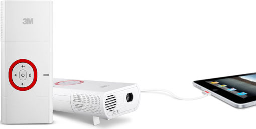 3M MP225 Mobile Projector
