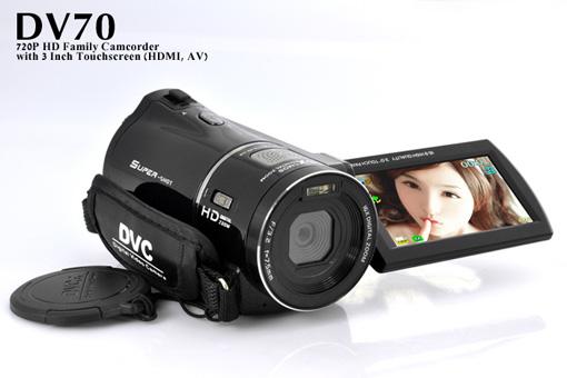 DV70 HD Family Camcorder