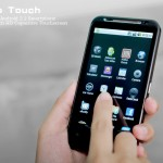 Android смартфон Nexo Touch