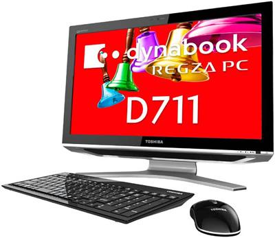 Toshiba Dynabook REGZA PC D711 WTTDB All In One