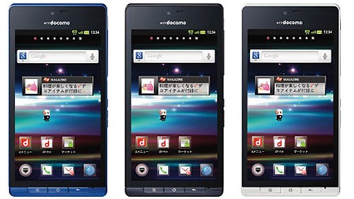 Sharp Aquos SH-01D