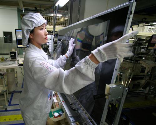 40-дюймовые сенсорные панели Samsung