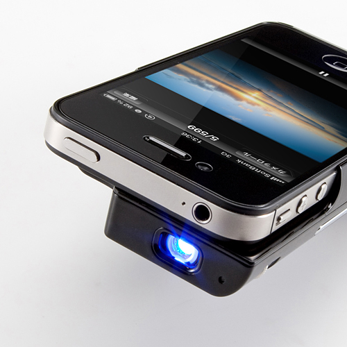 Минипроектор 400-PRJ011 FT1X для iPhone 4 и iPhone 4S