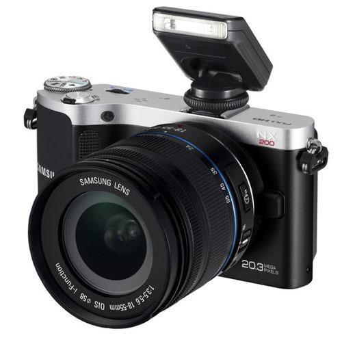 Фотоаппарат Samsung NX200 RS