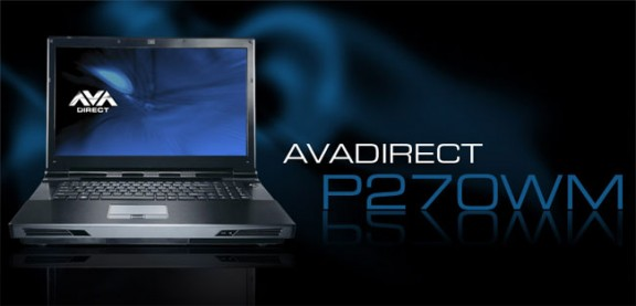 Ноутбук AVADirect Clevo P270WM