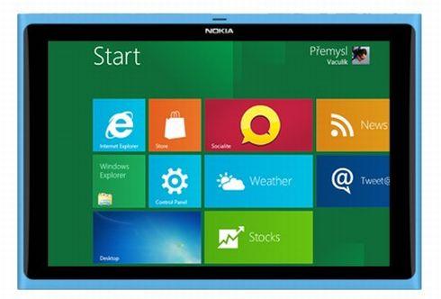 Планшет Nokia на Windows 8
