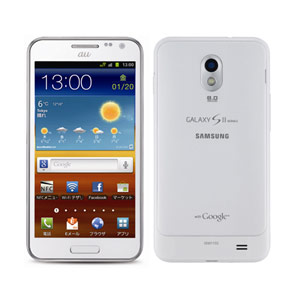 Samsung Galaxy S II в белом корпусе