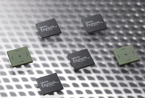 Мобильный процессор с четырьмя ядрами Cortex A9 - Samsung Exynos 4 Quad