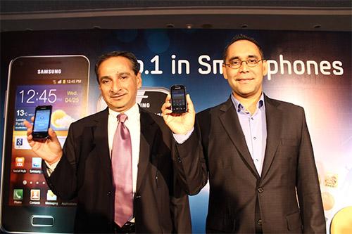Представление смартфонов Galaxy S Advance и Galaxy Pocket в Индии