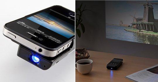 Микро-проектор Sanwa iPhone 4 - 400-PRJ011