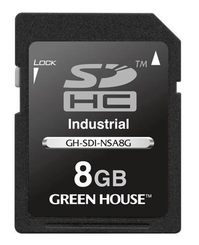Новые SDHC-карты Green House