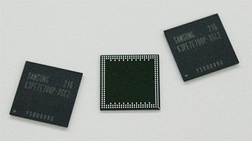20nm чипы памяти Samusng