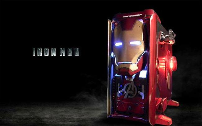 Системный блок в стиле Iron Man