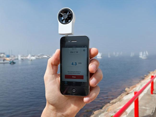 Измеритель ветра для вашего iPhone