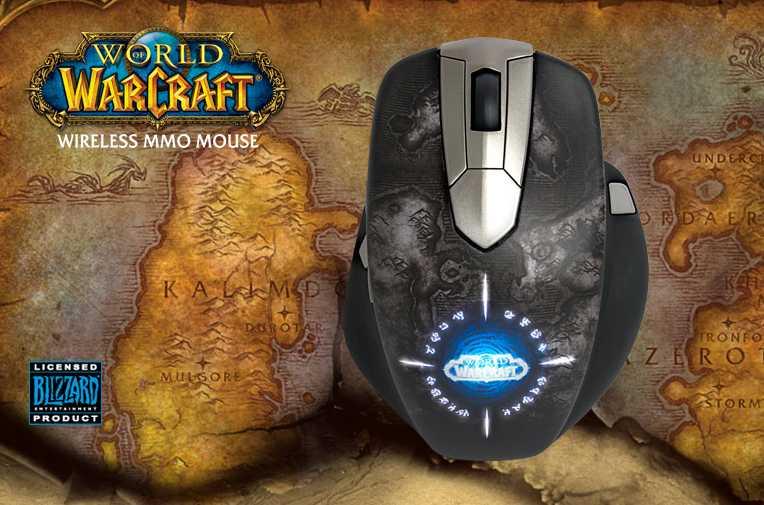 Беспроводная игровая мышь SteelSeries World of Warcraft