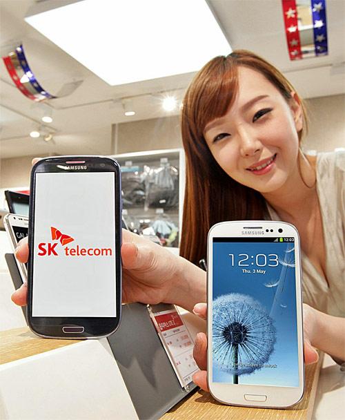 Южнокорейская версия Samsung Galaxy S III в сетях SK Telecom