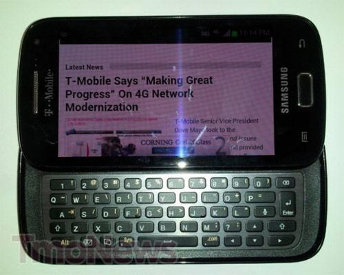 Слайдер с QWERTY-клавиатурой Samsung SGH-T699