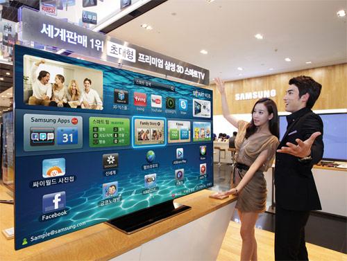 75-дюймовый телевизор Samsung ES9000