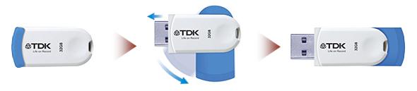 Серия USB накопителей TDK Pico Color