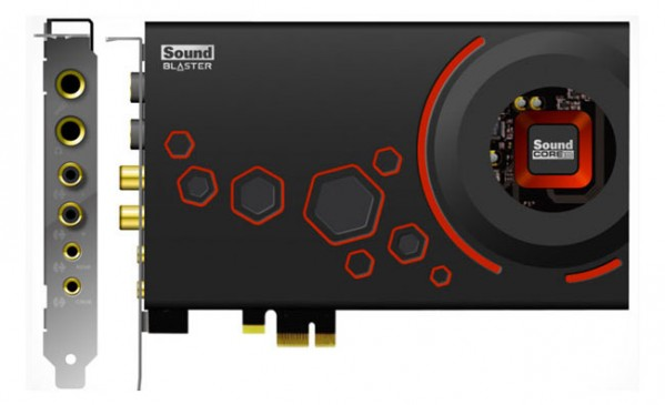 Z-Series Sound Blaster PCI-Express