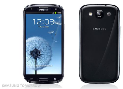 Samsung Galaxy S III в корпусе цвета Черный Сапфир