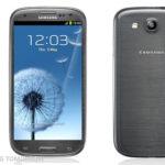 Samsung Galaxy S III в корпусе цвета Серый Титан