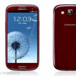 Samsung Galaxy S III в корпусе цвета Красный Гранат