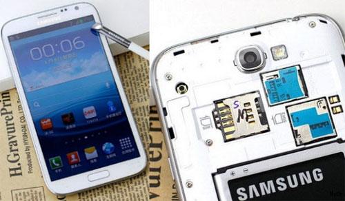 Гибрид Samsung Galaxy Note II с поддержкой двух SIM карт