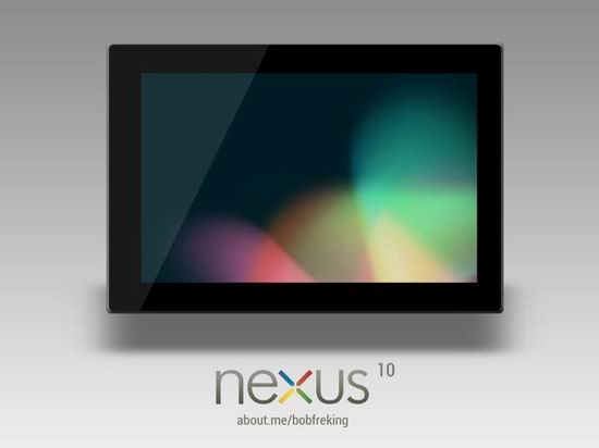 Планшетный компьютер Google Nexus 10