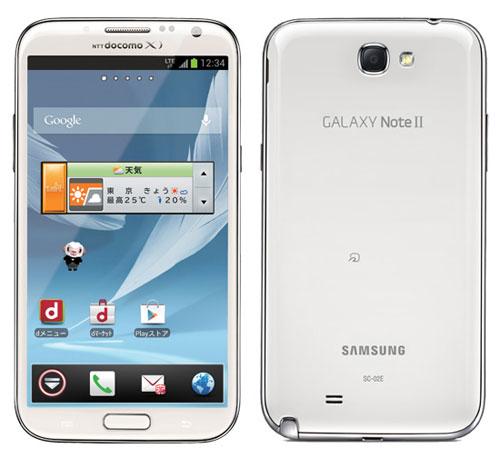 Samsung Note II для NTT Docomo