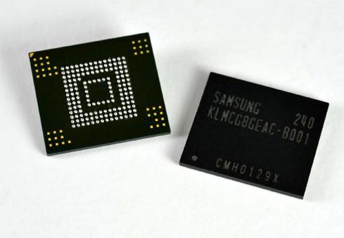 64-Гигабайтовые карты памяти от Samsung