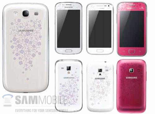 Смартфон Samsung Galaxy S III La Fleur