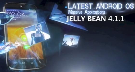 ZTE Grand X на Android 4.1.1 Jelly Bean