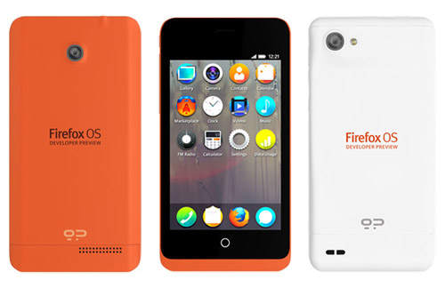 Смартфоны Keon и Peak на базе FireFox OS