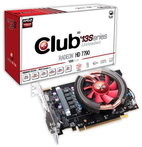 Club 3D Radeon HD 7790 13Series