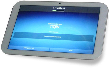 планшет Systena Corporation на ОС Tizen 2.0