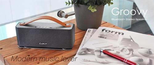 Groovy Wireless Stereo Speaker