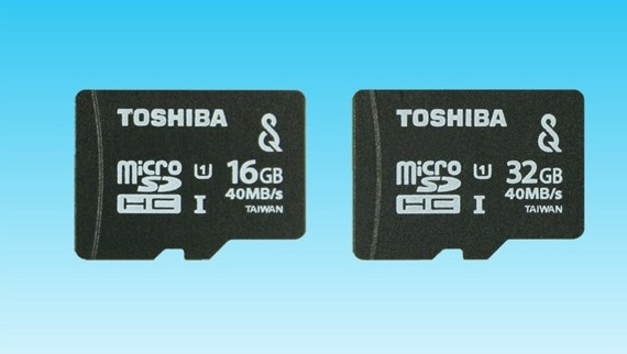 Toshiba microSDHC UHC-I
