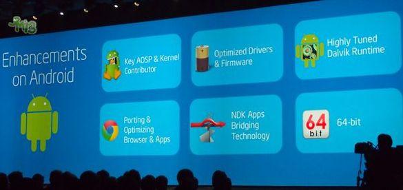 Android на базе 64-битного процессора