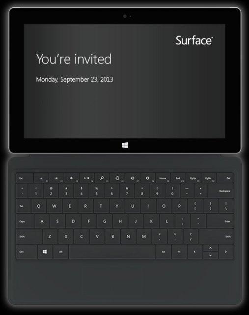 Microsoft Surface Invite