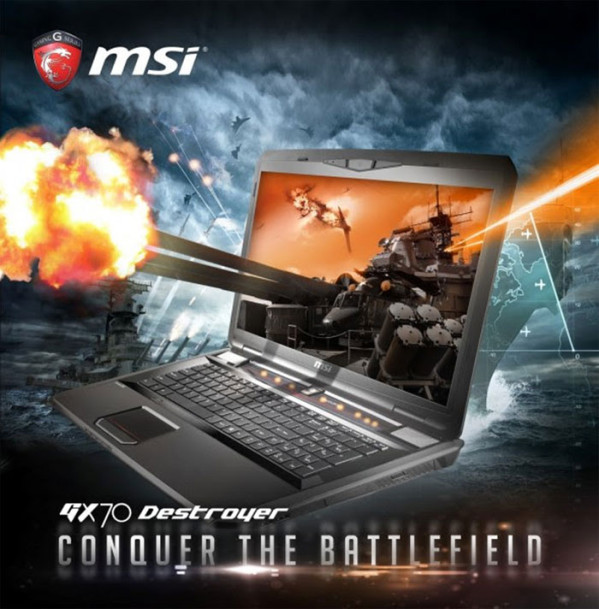 MSI GX70 Destroyer