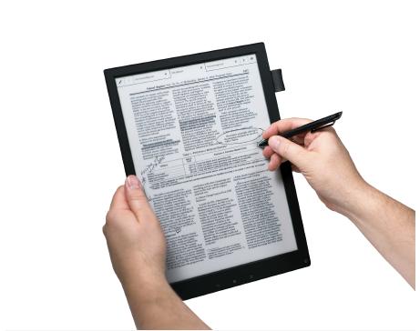 Sony Digital Paper E Ink Slate