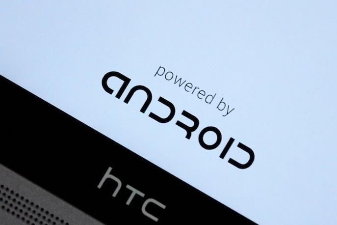 Powered By Android on HTC One