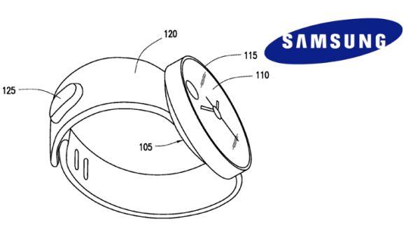 """Патент Samsung на новые """"Умные"""" часы"""