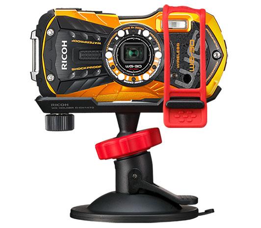 Крепления для камер RICOH WG-30W и WG-30