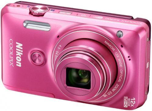 COOLPIX S6900 в розовом корпусе