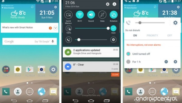 LG G3 получил Android 5.0 Lollipop