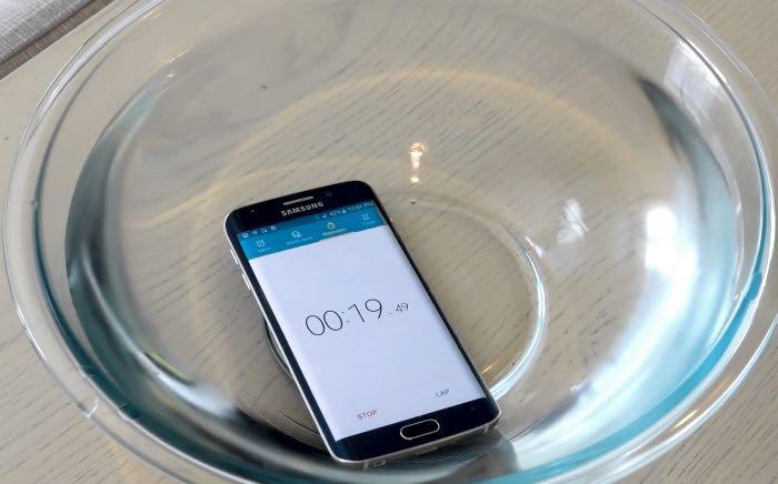 Проба водой Galaxy S6 Edge