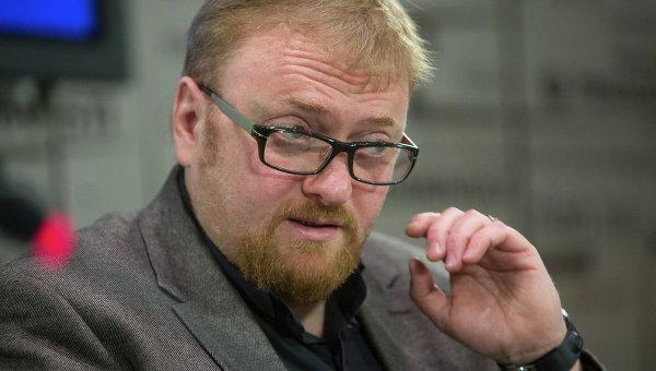Питерский депутат Виталий Милонов